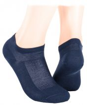 Extra fine and thin cotton slippers - dark blue