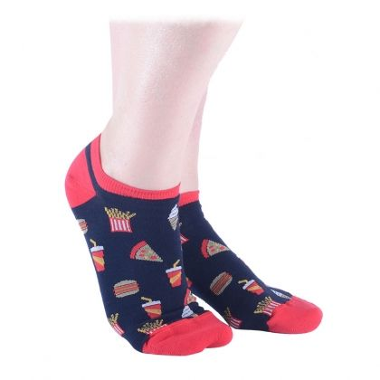 Fast Food Shorty Socks