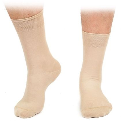 Set of 2 pairs of luxurious men's socks - combed cotton