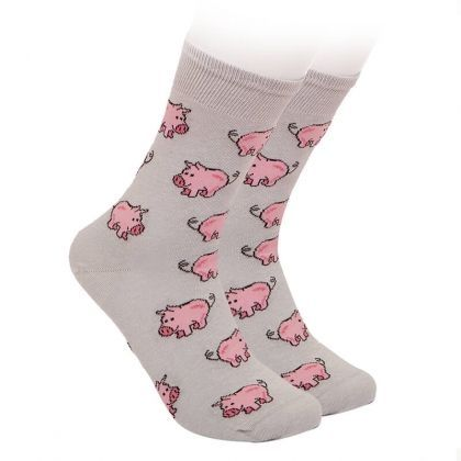 Kids socks with pig