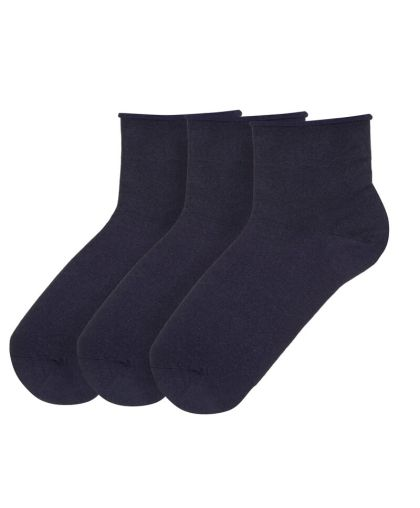 SET 3 PAIRS Non pressure socks - organic cotton