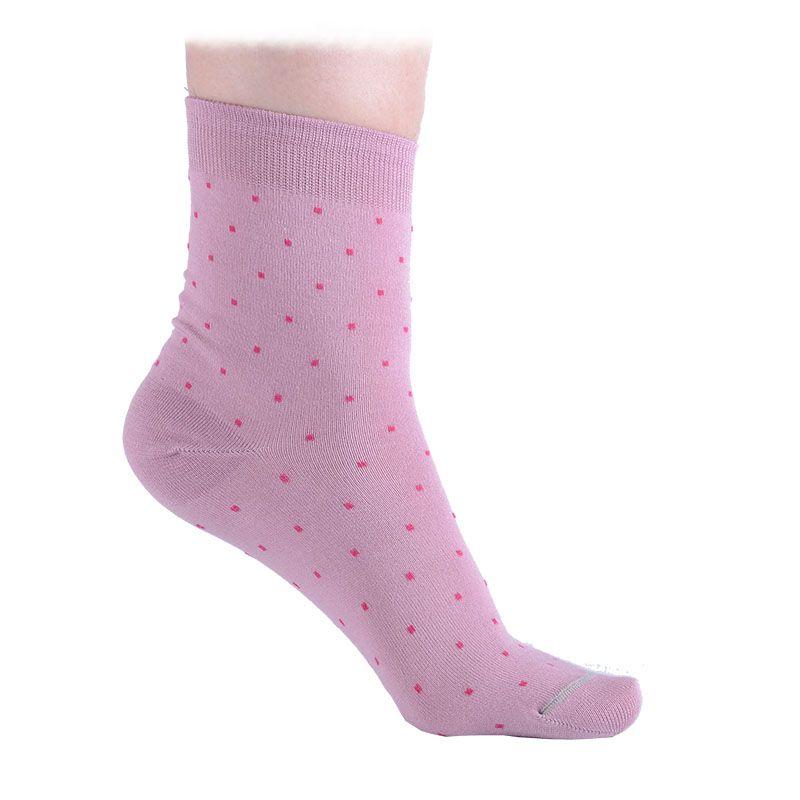 1225d5abb11 Бамбукови дамски чорапи на точки