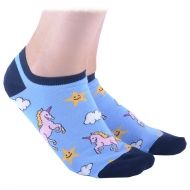 Unicorn Shorty Socks