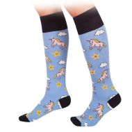Unicorn knee high socks