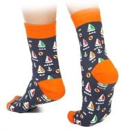 Sailboat socks