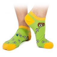 Football Shorty Socks