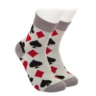 Playing cards socks
