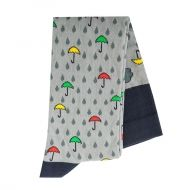 Raindrops and umbrellas Knee High Socks