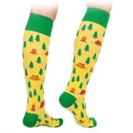 Camping Knee High Socks