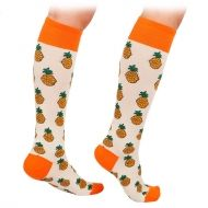 Pineapple Knee High Socks