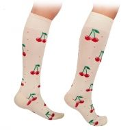 Cherries socks Knee High