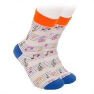 Great Music Notes Socks