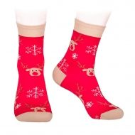 Rudolf socks for Christmas
