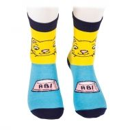 Cat and milk socks