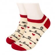 LOVE arrows Shorty Socks