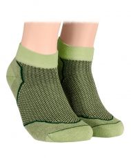 ankle socks with mesh