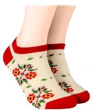 Bulgarian Shorty Socks - ecru