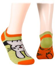 Bunny and carrots Short Socks