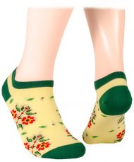 Bulgarian Shorty Socks - light yellow