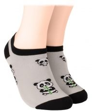 Panda Shorty Socks