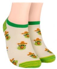 Avocado Shorty Socks