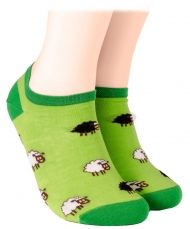 Short socks with sheep