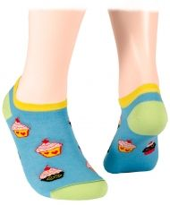 Cake Shorty Socks