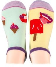 Ice cream Shorty Socks