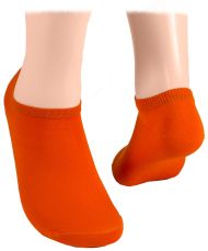 Cotton short socks – Orange