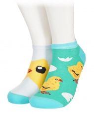 Chicks and eggs Shorty Socks